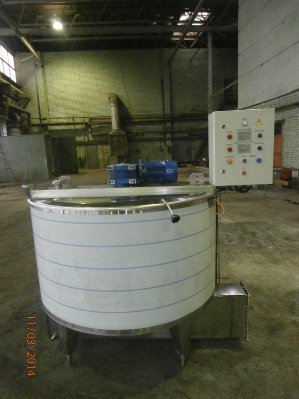 емкости и резервуары для хранения молока и других пищевых жидкостей