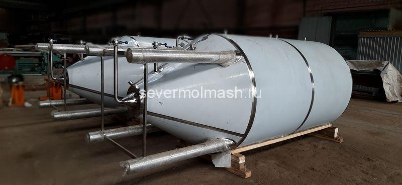 Цилиндро-конический танк